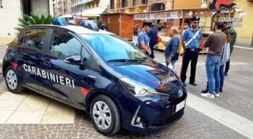 Cosenza, debutta la nuova vettura ecosostenibile dei carabinieri
