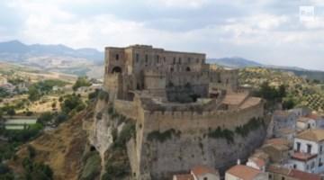 Rocca Imperiale nel filmato Rai