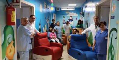 Il reparto di Pediatria di Vibo Valentia