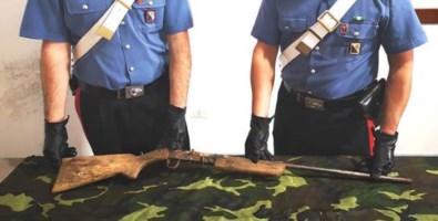 Rastrellamenti nella locride, trovato un fucile senza matricola