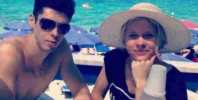 Luca Sacchi e la fidanzata Anastasiya