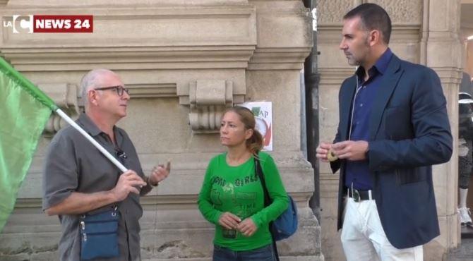 Catanzaro, protesta dei sindacati di Polizia