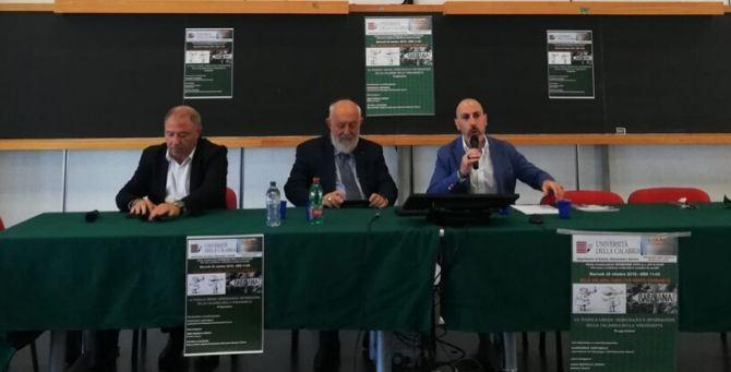Da sinistra: Michele Albanese, Gino Crisci e Giancarlo Costabile