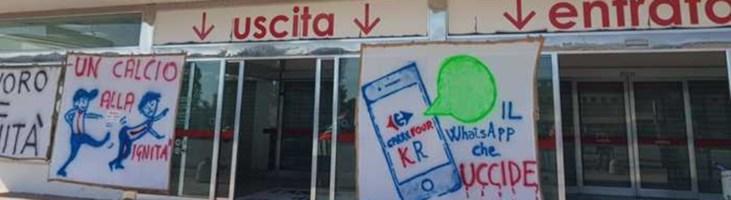 Crotone, dipendente Carrefour colto da malore durante il tredicesimo giorno di protesta