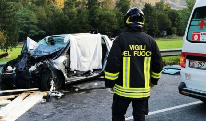 Incidente in Valtellina, foto Afvs