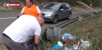 Strada dell'Angitolano più pulita, sporcaccioni incastrati dalle fototrappole