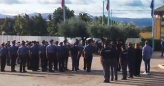 I carabinieri di Lamezia omaggiano i due poliziotti uccisi a Trieste