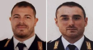 I due poliziotti uccisi Pierluigi Rotta e Matteo Demenego