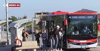 Gli studenti di Corigliano-Rossano in protesta
