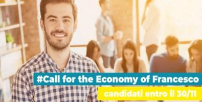 Cercasi progetti per una nuova economia, in palio 80mila euro