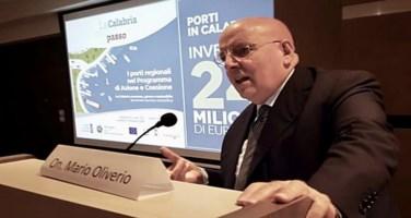 Il presidente della Regione Mario Oliverio