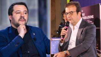 Matteo Salvini e Mario Occhiuto