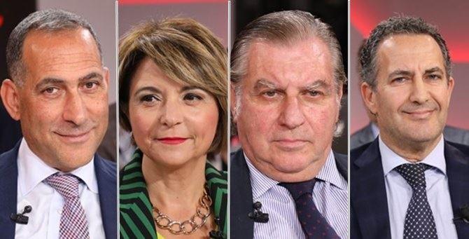 Brunello Censore, Maria Limardo, Michele Drosi e Carlo Salvo