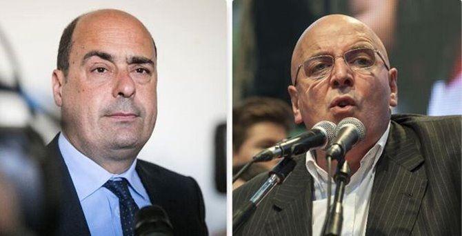 Nicola Zingaretti e Mario Oliverio