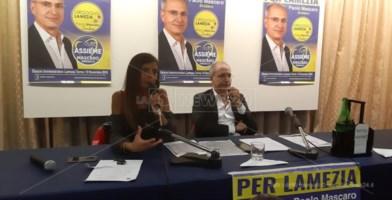 Elezioni a Lamezia, Mascaro presenta i candidati: «Vincerò al primo turno»