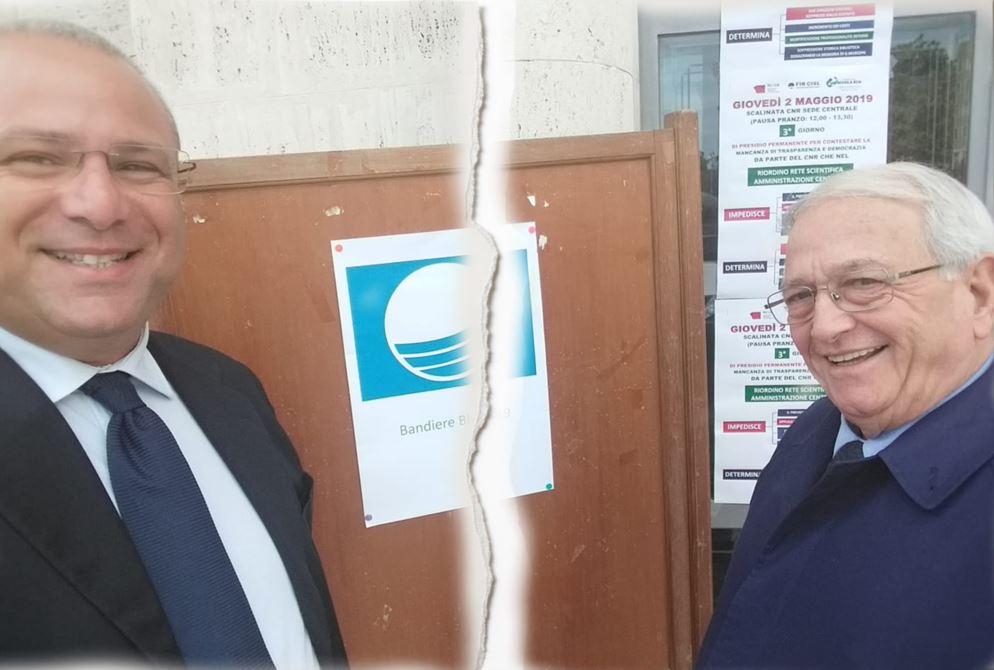 L'assessore De Lorenzo ed il sindaco Praticò