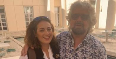 Nesci e Grillo alla festa 5s di Napoli