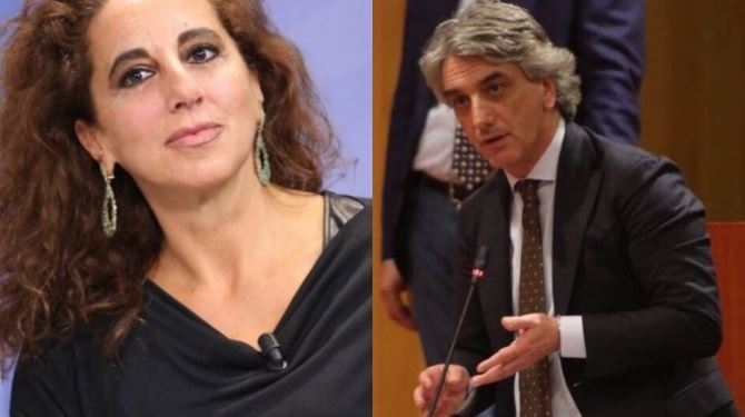 Wanda Ferro e Giuseppe Aieta