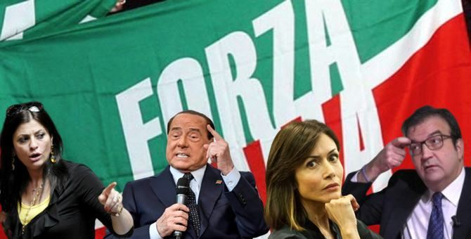 Santelli, Berlusconi, Carfagna e Occhiuto