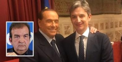 Berlusconi e Giuseppe Mangialavori. Nel riquadro, Mario Occhiuto