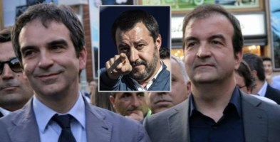 Matteo Salvini e i fratelli Occhiuto