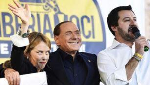 Meloni, Berlusconi e Salvini