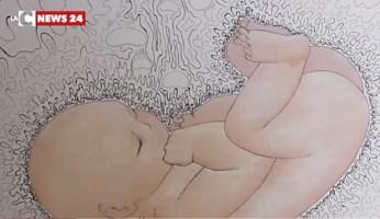 Un bimbo durante la gravidanza