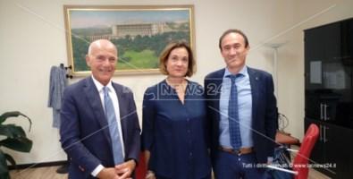 Domenico Bagnato, Franca Tancredi e Salvatore Gullì