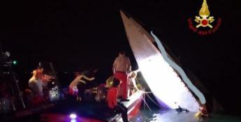 Motoscafo contro diga, tre morti. C'è anche il campione offshore Buzzi