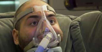 Paolo Palumbo è il primo malato Sla a pilotare un drone con lo sguardo