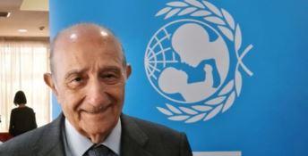 Il presidente dell'Unicef Italia Francesco Samengo