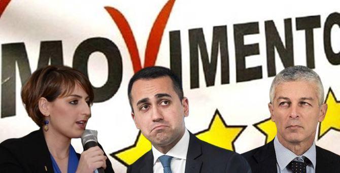 Dalila Nesci, Luigi Di Maio e Nicola Morra