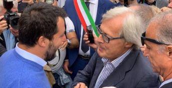 Elezioni regionali, Sgarbi in soccorso di Mario Occhiuto intercede con Matteo Salvini