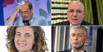 Nicola Zingaretti, Mario Oliverio, Anna Laura Orrico e Nicola Morra
