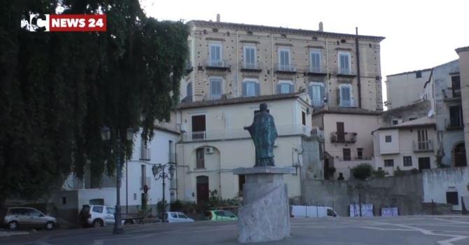 La piazza di Rossano