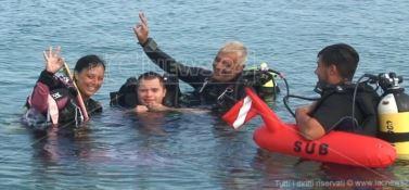 Le immersioni senza barriere di Pierpaolo: «La subacquea? Sport inclusivo»