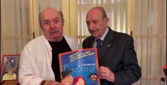 Lino Banfi e Francesco Samengo