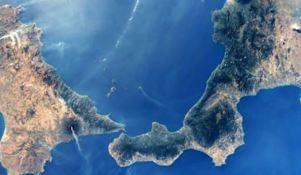 Regioni del Sud viste dallo spazio, foto dalla Stazione spaziale internazionale