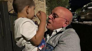 Oliverio e il piccolo Rayem