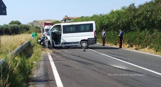 Incidente mortale a Brancaleone