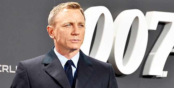 Il protagonista di Bond 25, Daniel Craig
