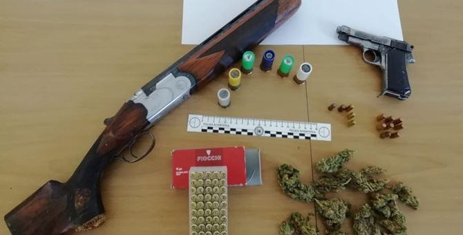 Parte del materiale sequestrato durante i controlli