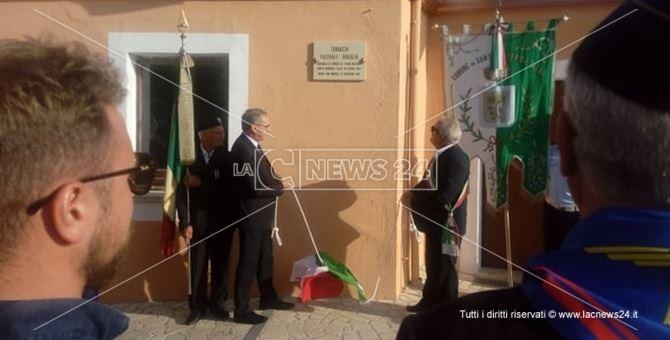 Il presidente del parco del Pollino, Domenico Pappaterra, e il sindaco Alfredo Lucchesi