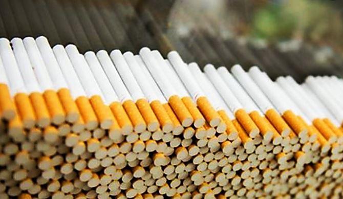 In foto, sigarette