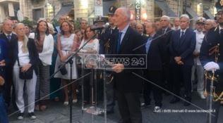Reggio, una via in memoria di Andrea Caridi. Gabrielli: «Dal governo più sicurezza»