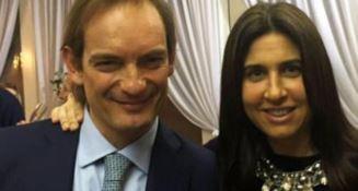Il dermatologo Matteo Cagnoni e la moglie Giulia Ballestri