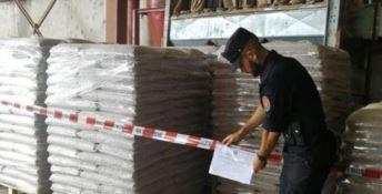 Producevano pellet abusivamente: due denunce a Mongrassano