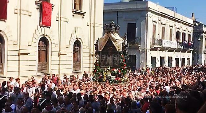 Reggio, la Madonna della Consolazione