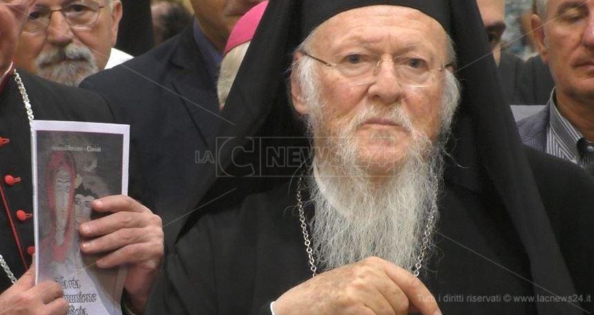 Il patriarca ortodosso Bartolomeo I