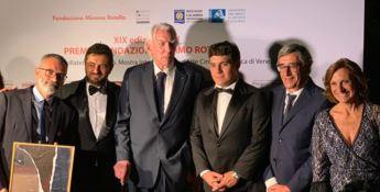 Mostra del cinema, consegnato il premio Fondazione Mimmo Rotella